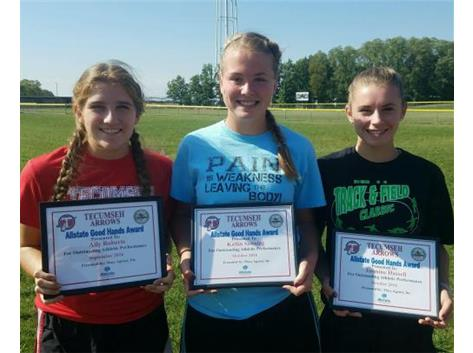 Brian Macy Allstate Player of the Week: Ally Robets, Katlin Sanning, Jasmine Hassell
