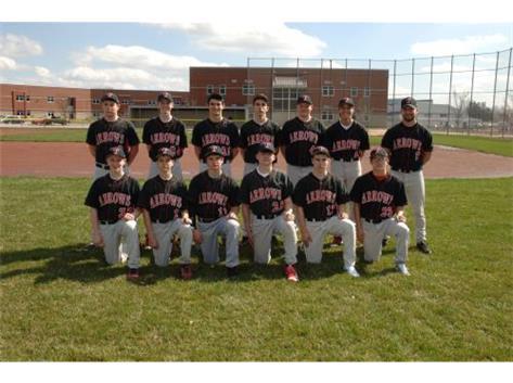 JV Baseball 2016