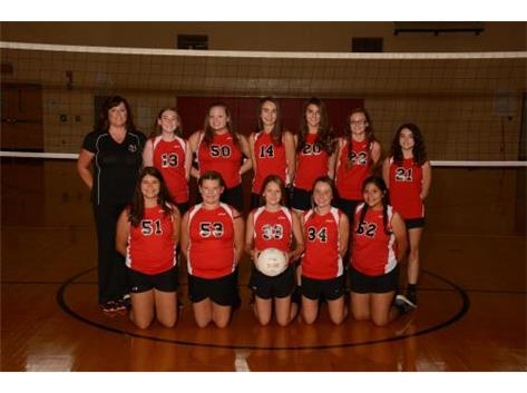 8th Grade Volleyball 2017