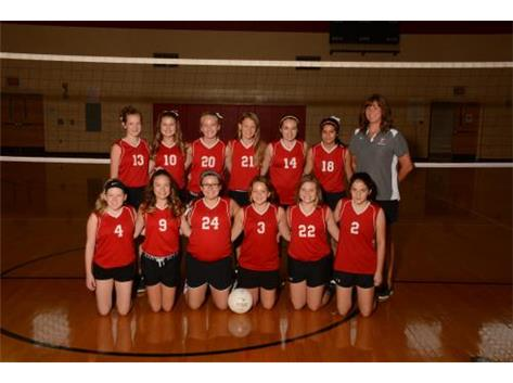7th Grade Volleyball 2017