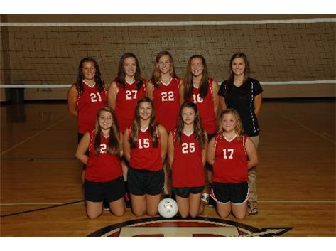 8th Grade Volleyball 2013