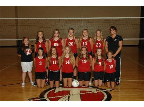 7th Grade Volleyball 2013