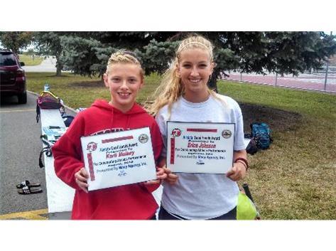 Allstate Good Hands Player of the Week: Karli Mulkey, Erica Johnson