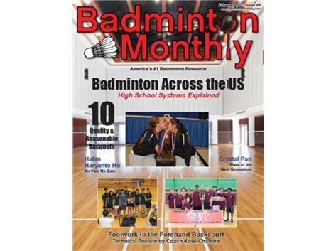 TF South Badminton was featured in a national magazine.