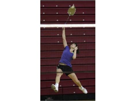 BADMINTON is one of the most athletic demanding sports to play.