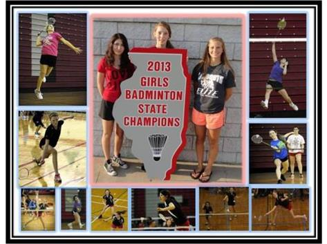 3 Badminton Banners now hang proudly in the TF South gym