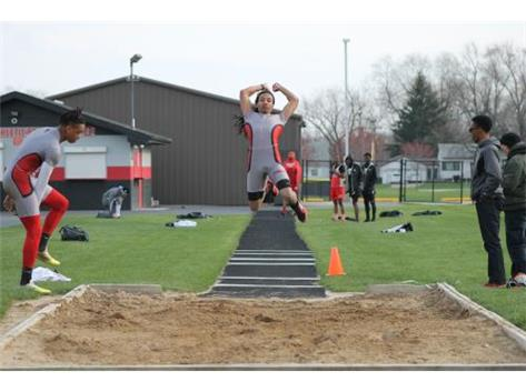 Kyle Reese long jump