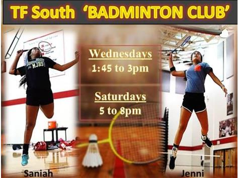 OPEN Badminton Club Starts August 21,2019