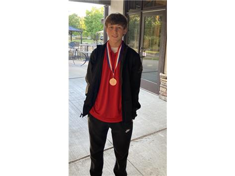 Ethan Modjeski plays great golf to earn All-Conference honors.
