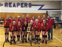 Varsity Volleyball 3-peats as Champs at the 2015 Plano Invite!