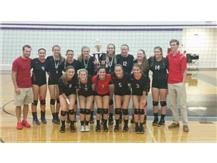 Varsity Volleyball wins the Manteno Invite for the 6th year in a row!