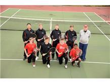 2021 Varsity Boys Tennis team