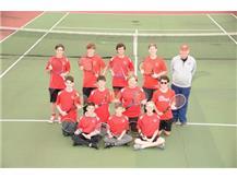 2021 JV Boys Tennis team