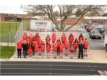 2021 Girls Track Team