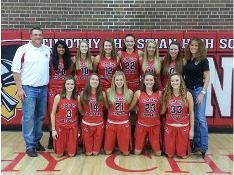Girls Varsity Team Photo