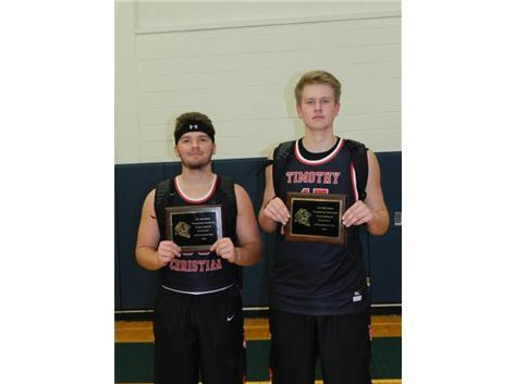 Joey Davidson and Brandon Orange were selected on the All-tournament team at the Lisle Thanksgiving Tournament!
