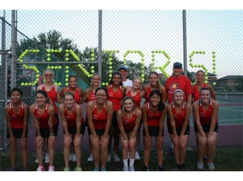 TC Girls Tennis 2017