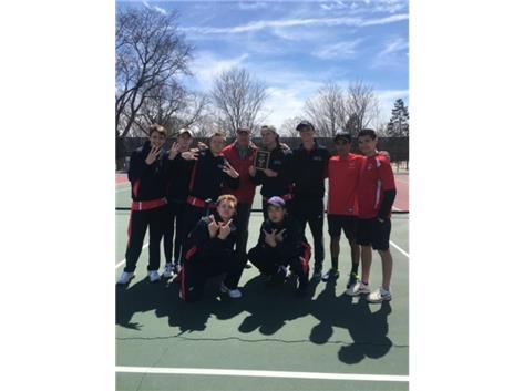 Tennis Champs April 13/2019