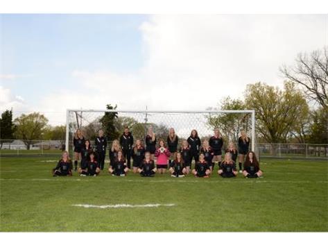2021 Varsity Girls Soccer team
