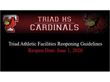Under the resource tab you will find the Covid-19 waiver and a presentation on athletic facilities reopening guidelines. Go Cardinals