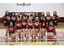 Triad cheerleaders brought home the 2020 OHC North and OHC Conference Championship