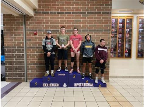 Dalton Overfield places 3rd at Bellbrook Invitational!