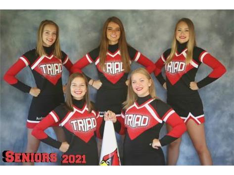 2021 Senior Cheerleaders