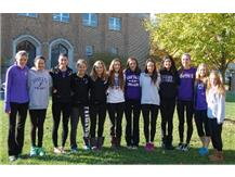 Good Luck Girls Cross Country - Peoria Bound!
