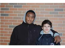 Good Luck at State Wrestling EJ Phillips and Pat Walker