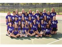 JV Tennis 2017-18