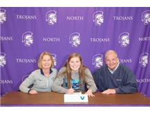 Congrats to Clare Delaplane for signing with Villanova University!