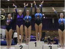 Mia Bowers places 2nd on Beam!!
