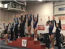Janae - 3rd, Kate Murray - 10th in the All Around
