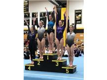 State qualifier on Bars - Brooke Stocki - 3rd place