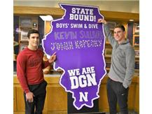 State Qualifiers Diving Kevin Sullivan & Jonah Kopecky