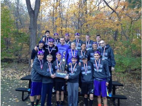 2nd in State Boys Cross Country!