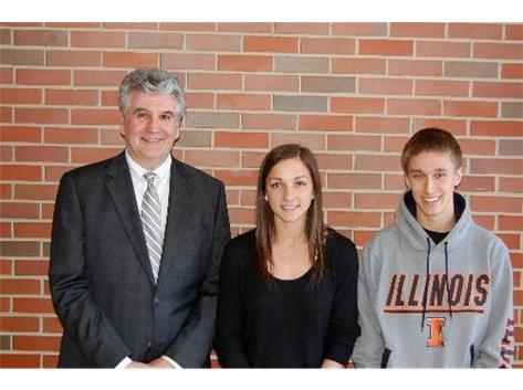 Congratulations Stephanie Urbancik & Zack Smith members of the IHSA All- State Academic Team