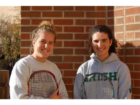 McMahon Sisters off to State for Tennis!