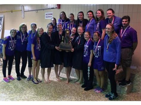 2nd State Girls Swin & Dive 2014