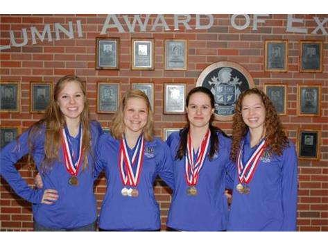 State Champions - 200 Free Relay