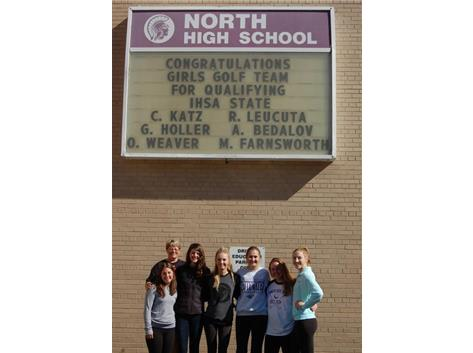 Good Luck at State Girls Golf Team!
