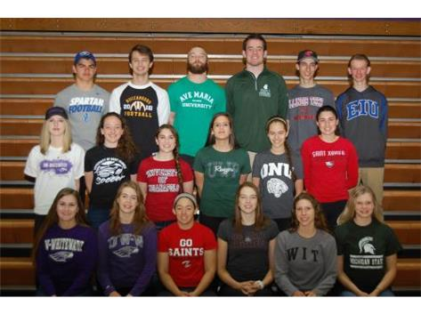 2015-16 All Signing Day Athletes