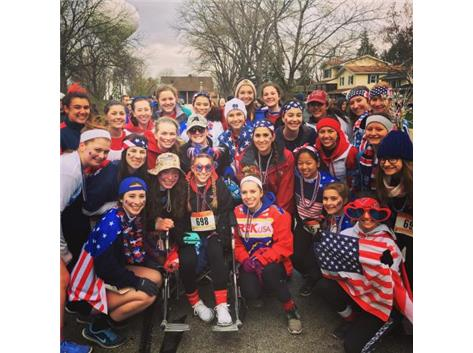 Team USA Runs a 5K