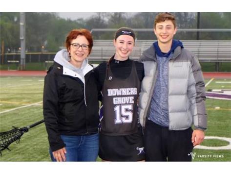 Violette Klesta and Family