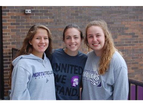 IHSA State Qualifiers Badminton  Maggie Tierney (Jr) Singles Annie Bedalov (Jr) & Natalie White (So) Doubles