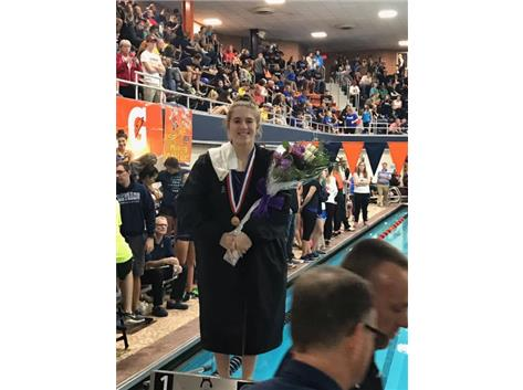 7th place IHSA State Medalist - Diving