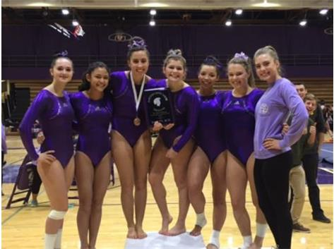 Bringing home some hardware!  2nd place finish at the 12 team Big Purple Invite - so proud of these girls!