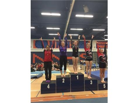 Brooke Stocki - 2nd place Uneven Bars