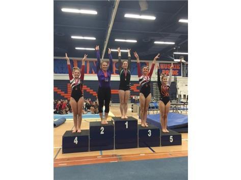 Brooke Stocki - 2nd place All Around!