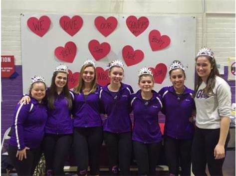 Seven of the sweetest girls - what a wonderful night!